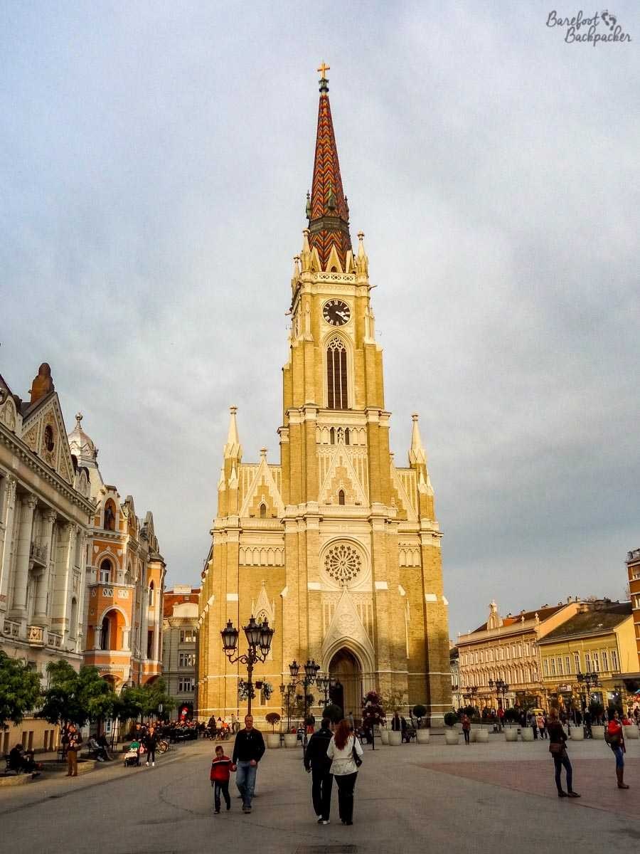 Church in Novi Sad