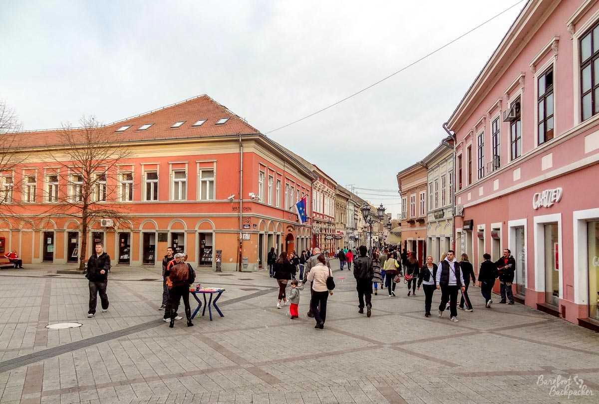Novi Sad main square