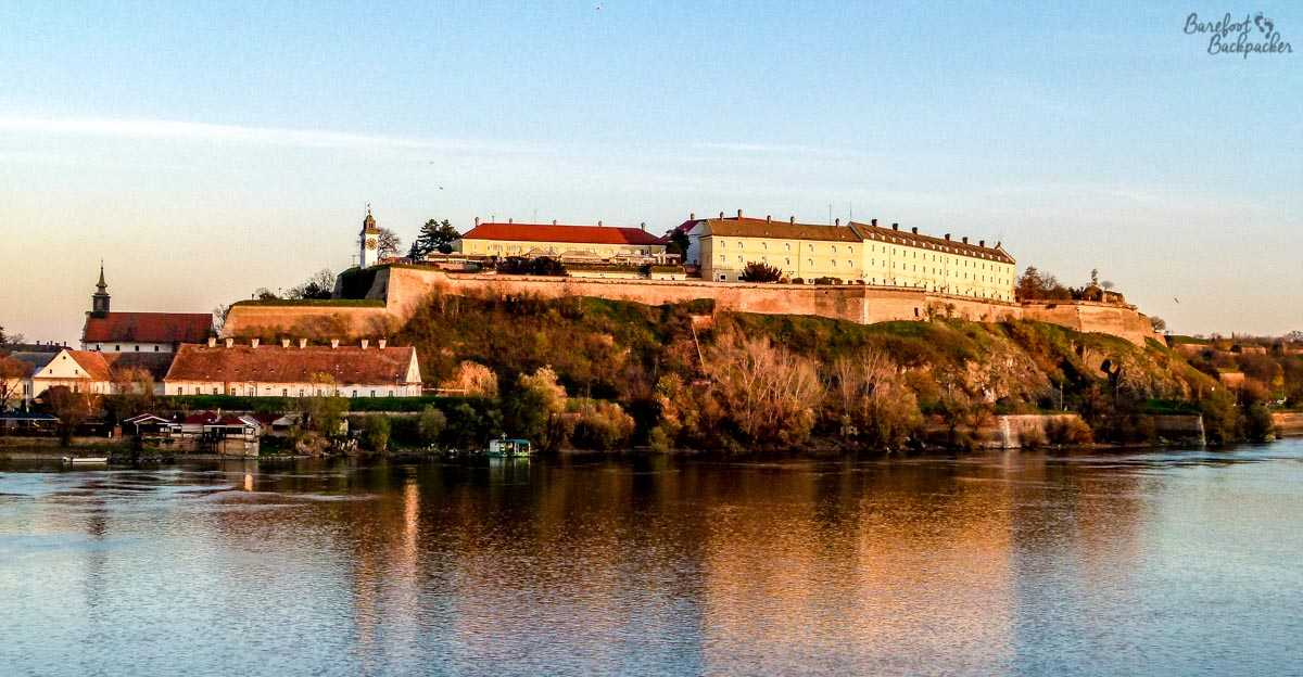 View of Petrovaradin Fortress