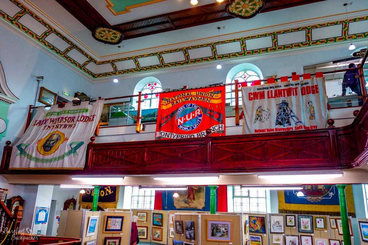 Miners' banners