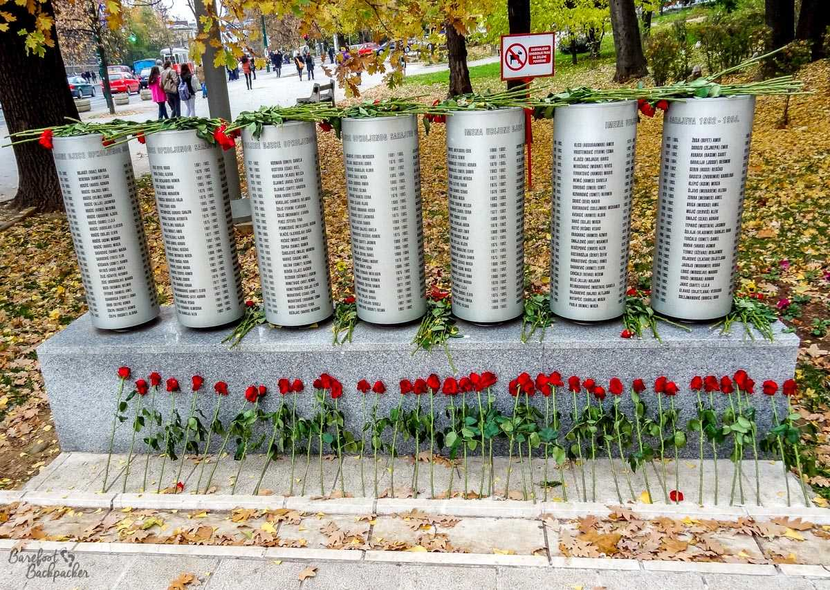 Monument to killed children, Sarajevo