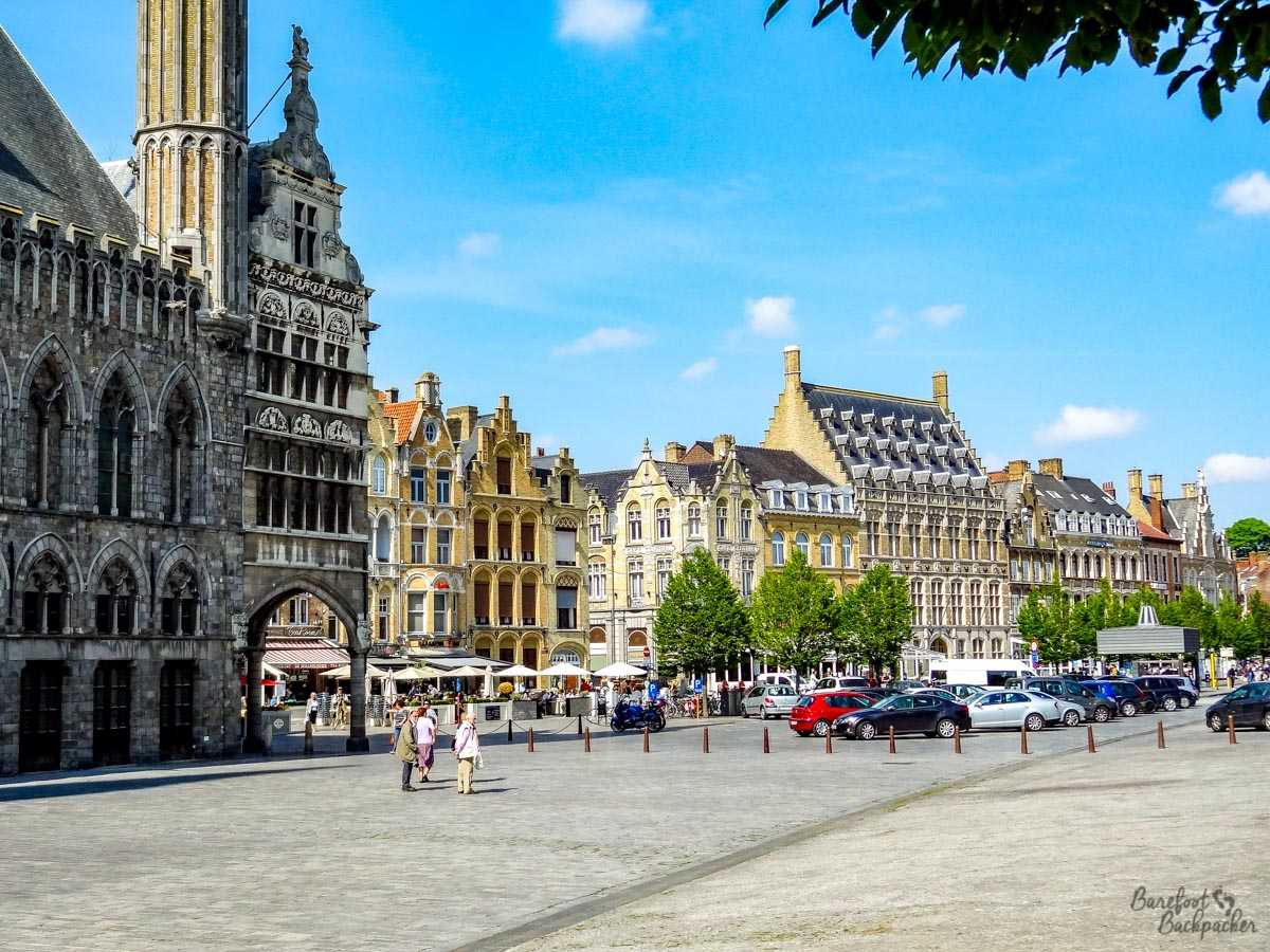 Ypres Town Centre