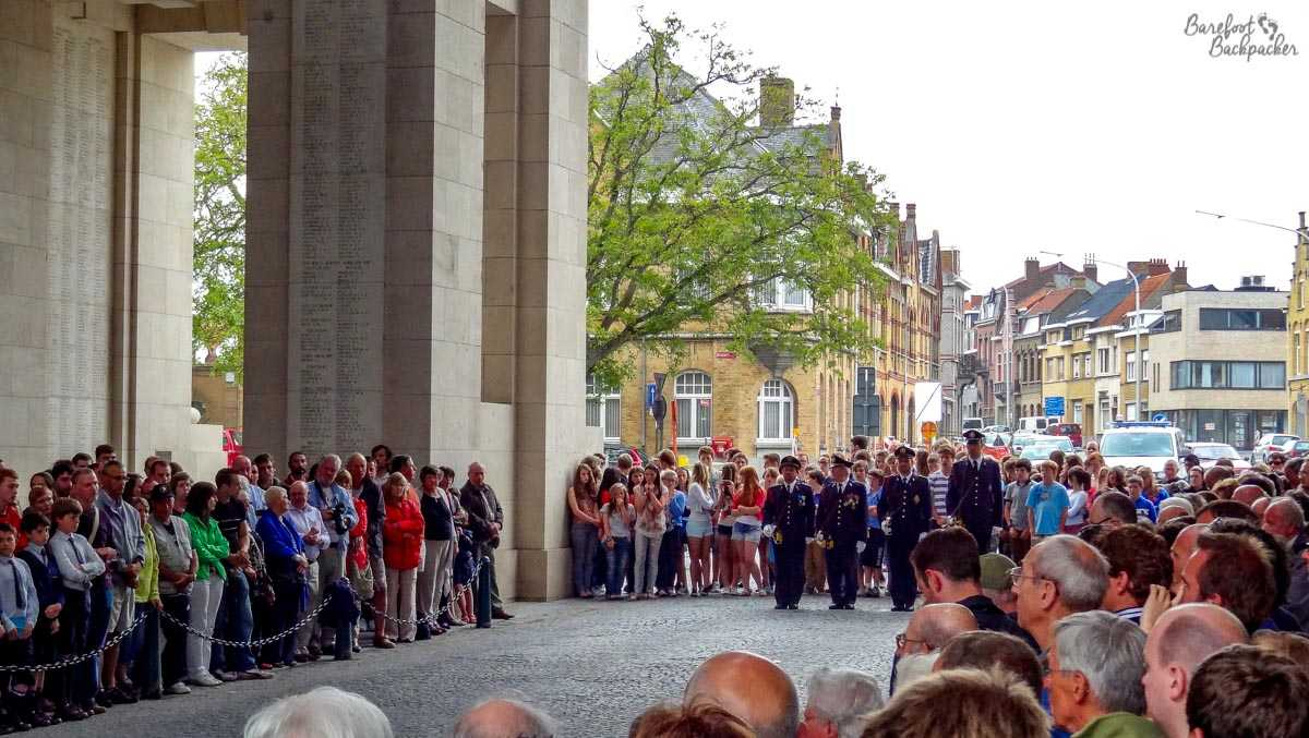 Menin Gate Ceremony