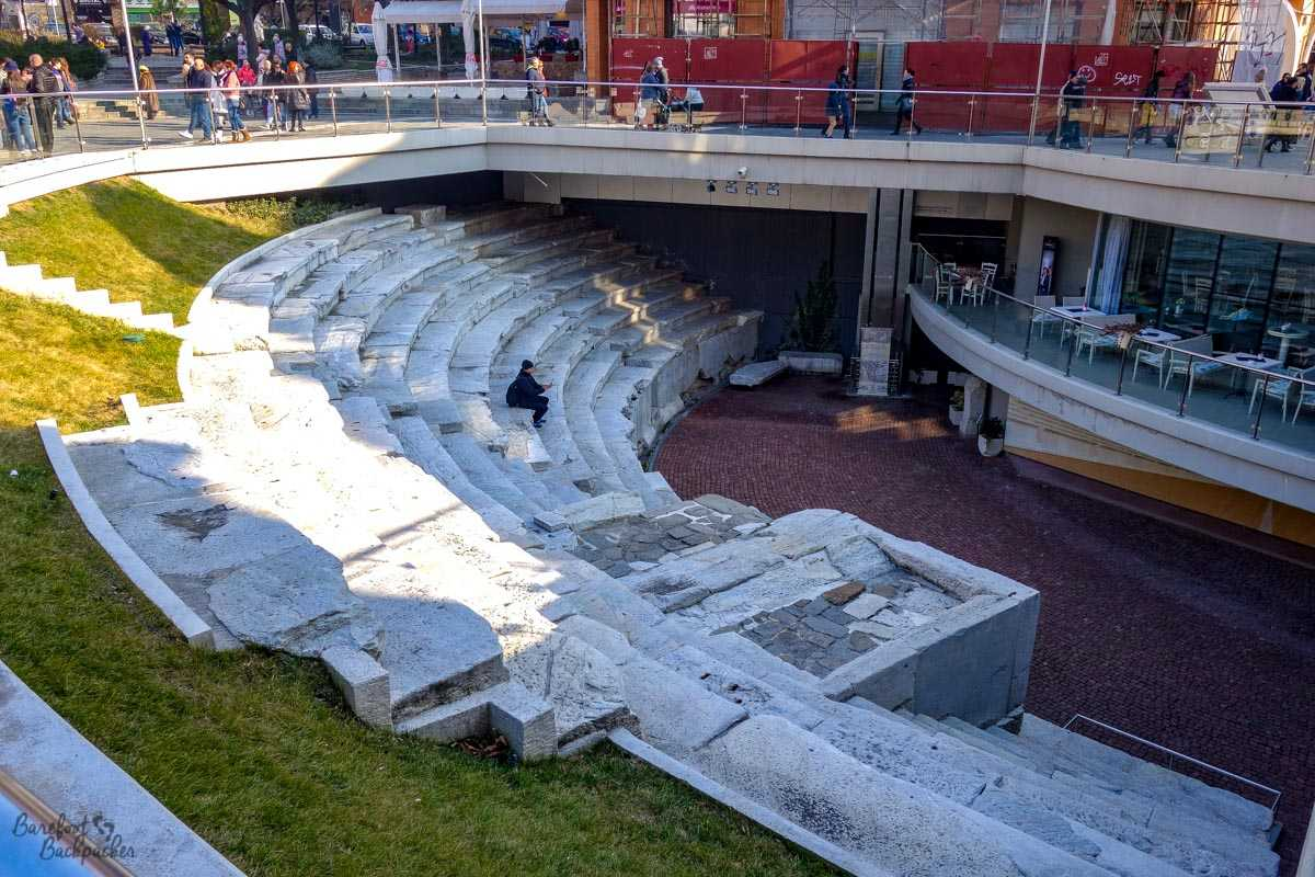 Roman stadium, Plovdiv