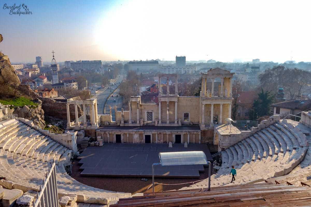 Roman Amphitheatre, Plovdiv