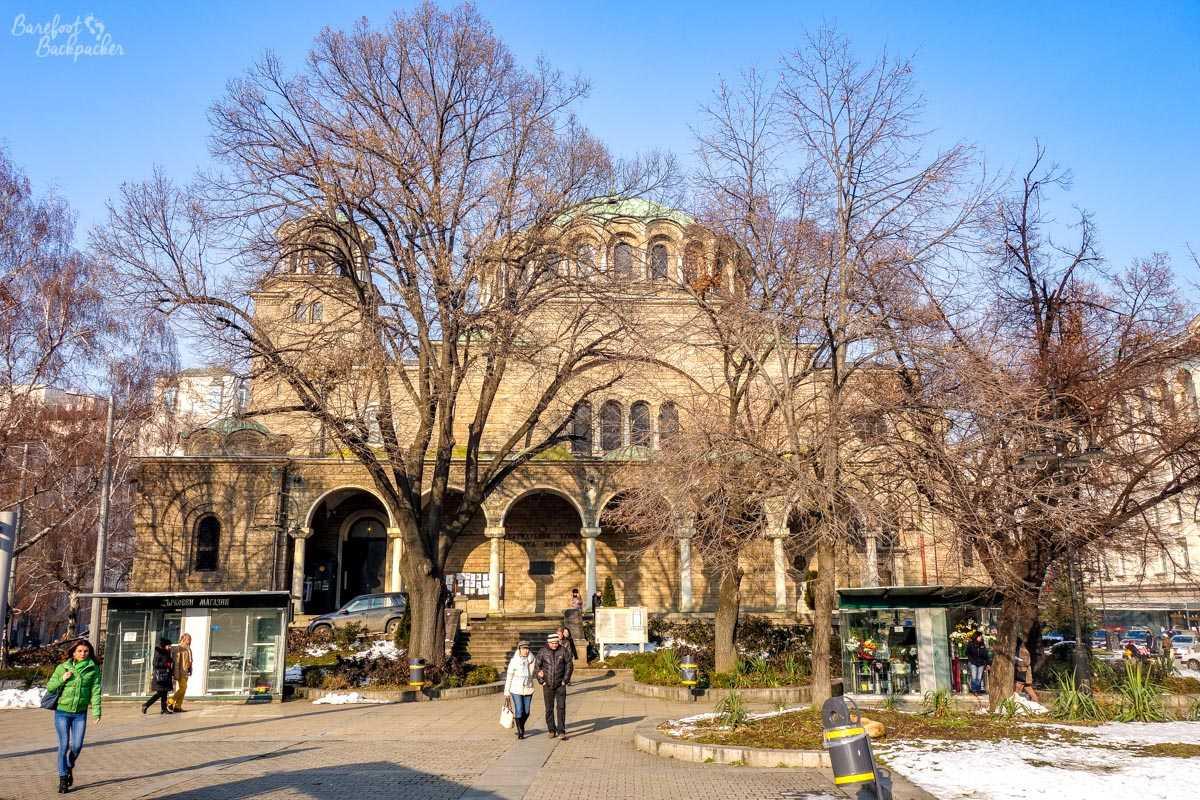 Sveta Nedelya church, Sofia
