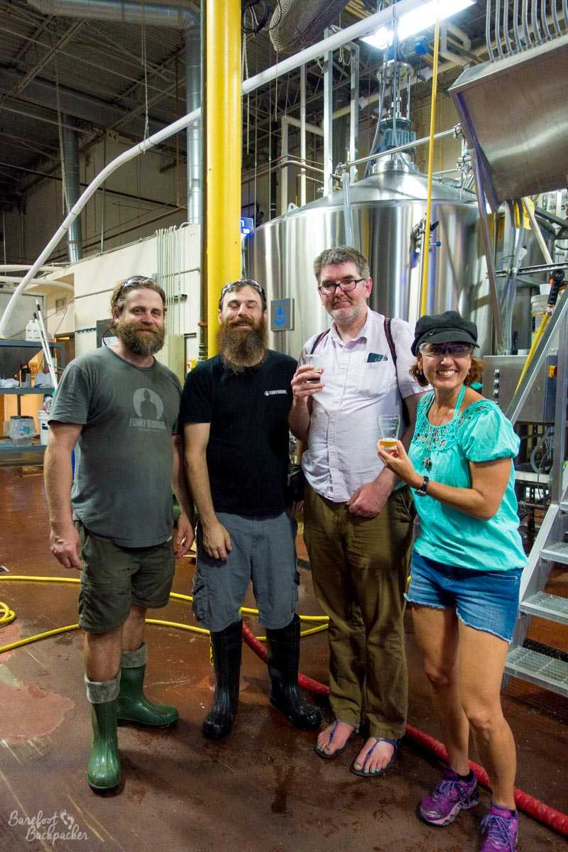 Meet the Brewers at Funky Buddha brewery