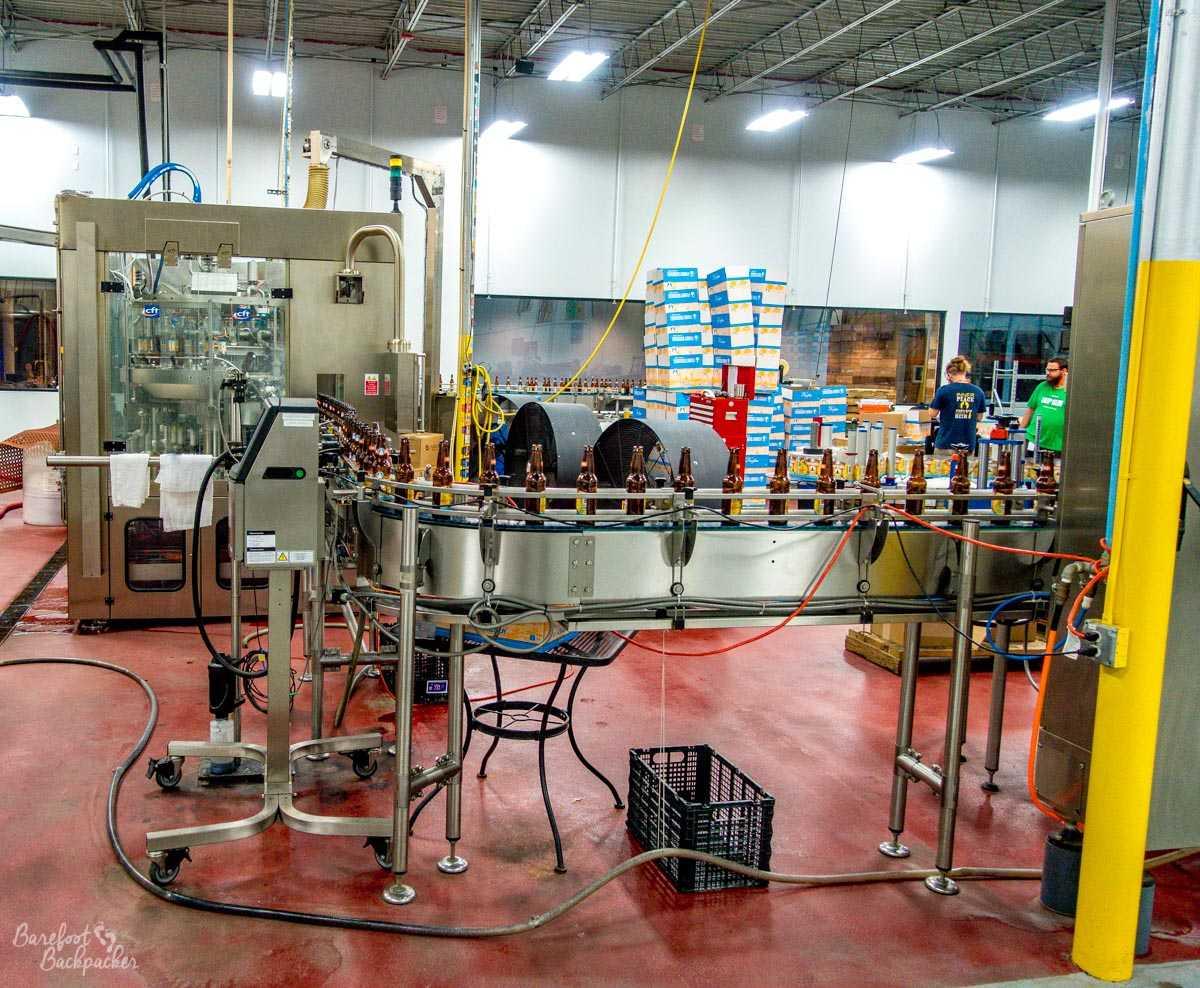 Bottling plant, Funky Buddha brewery