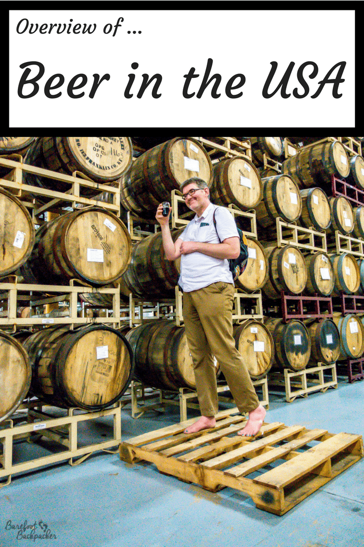 An overview of beer styles and tastes in the USA, as sampled by a Brit.