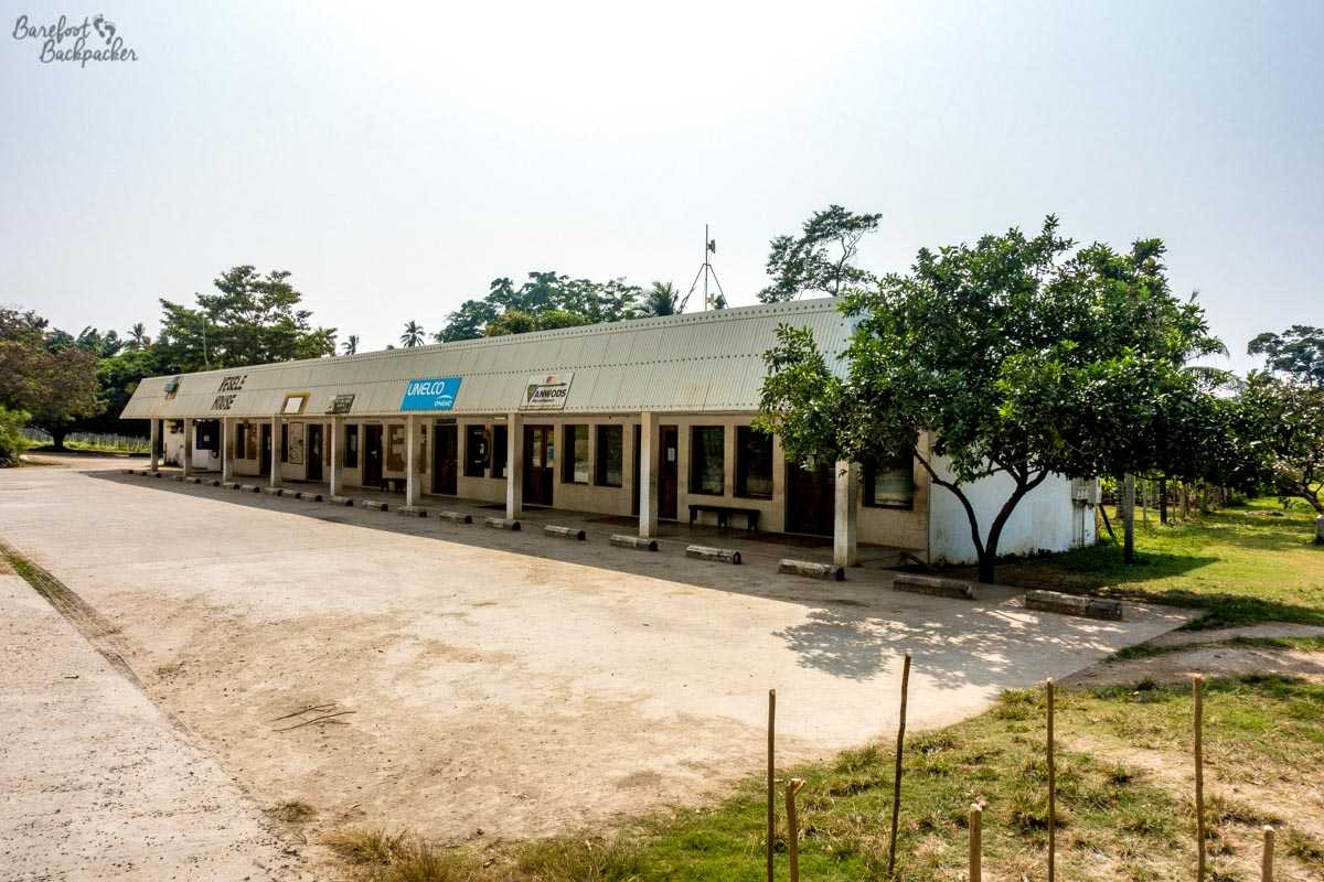 Strip-Mall in Lakotoro, Malekula.