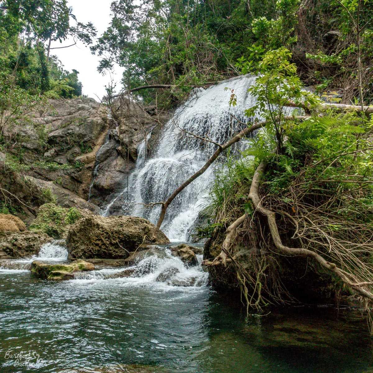 Losinwei waterfall, Malekula.
