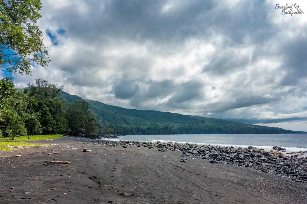 The beach near Endu, Ambrym, Vanuatu