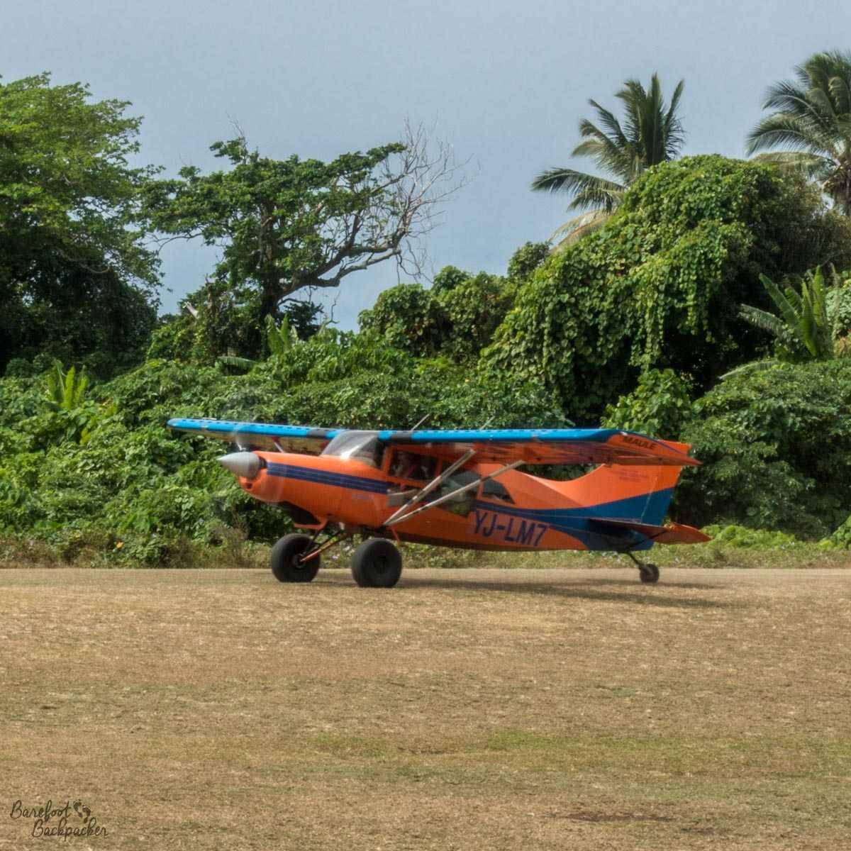 Flying Doctor, Gaua Airport.