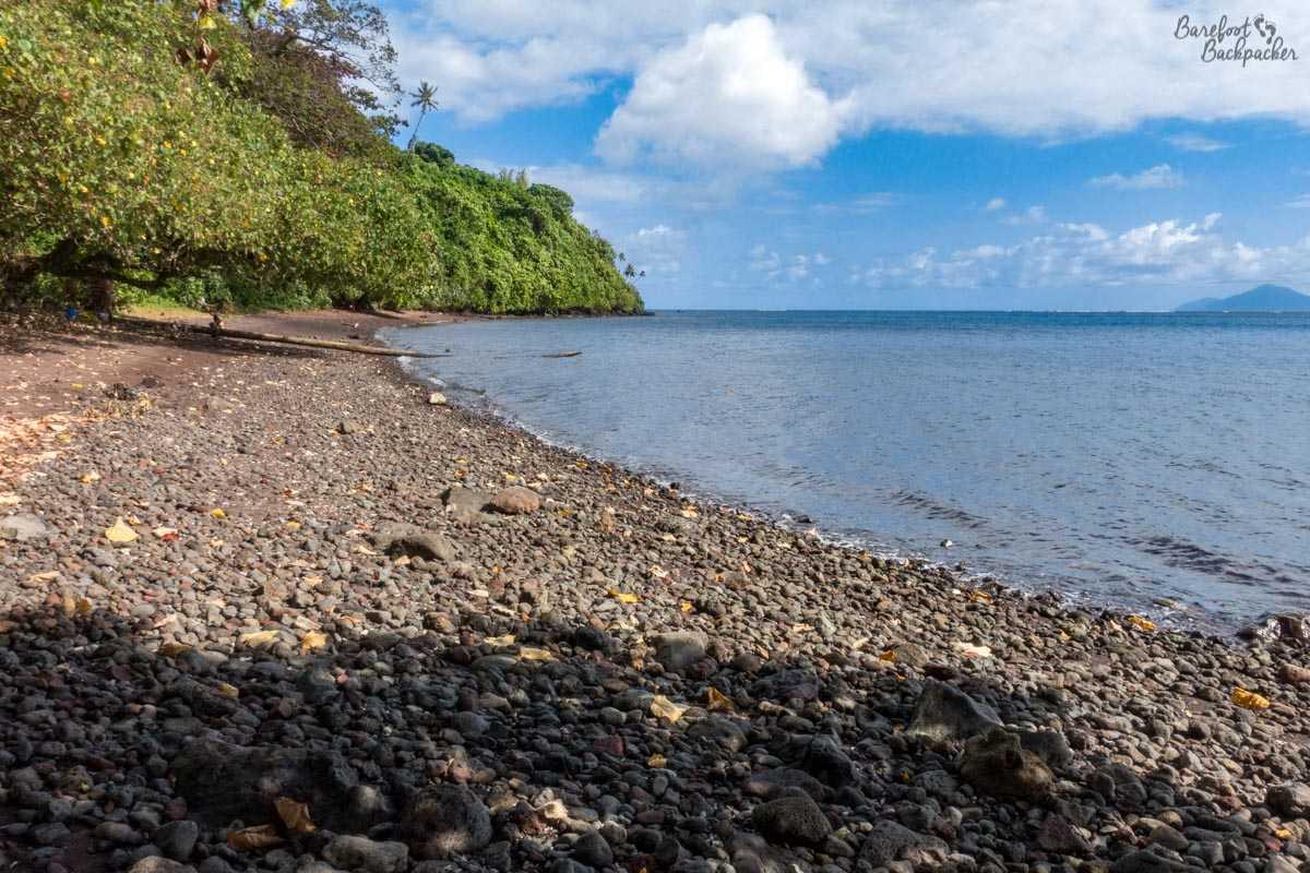 Beach on Gaua.