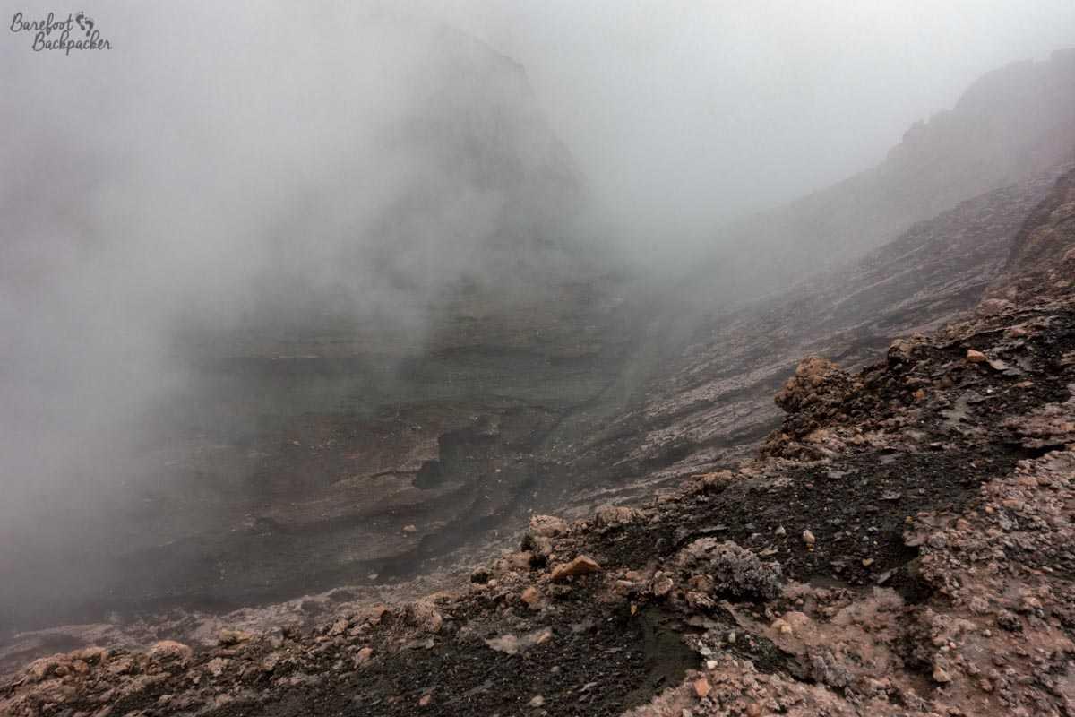 Mt Garet, Gaua.