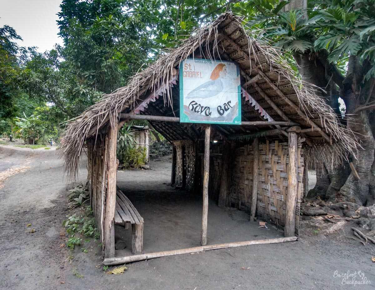 Kava Bar, Ambrym, Vanuatu.