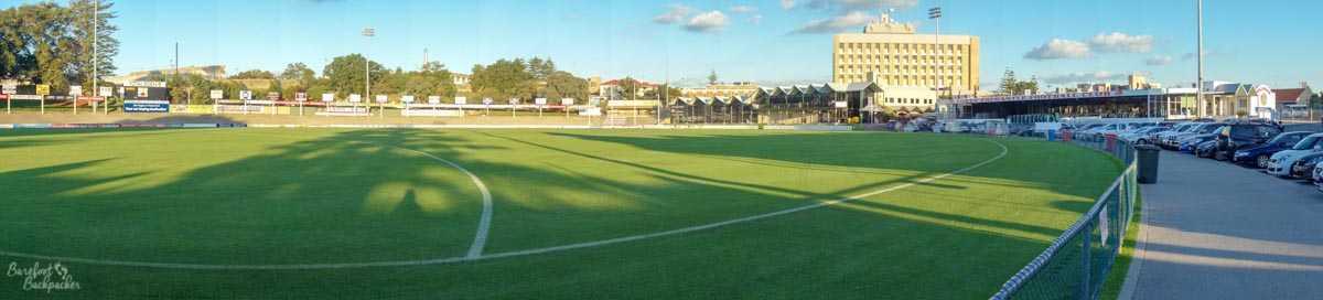 Fremantle Oval, Fremantle.