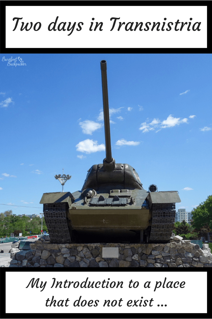 Two Days in Tiraspol, Transnistria
