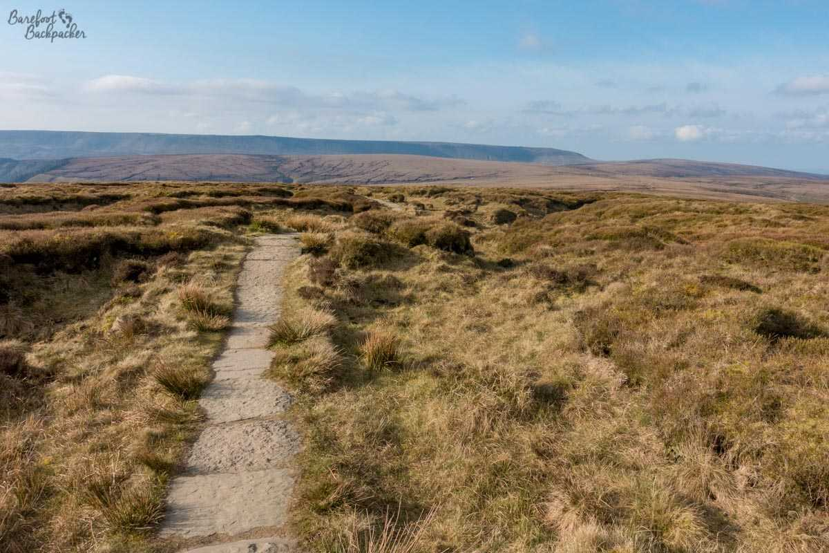 View on the Pennine Way