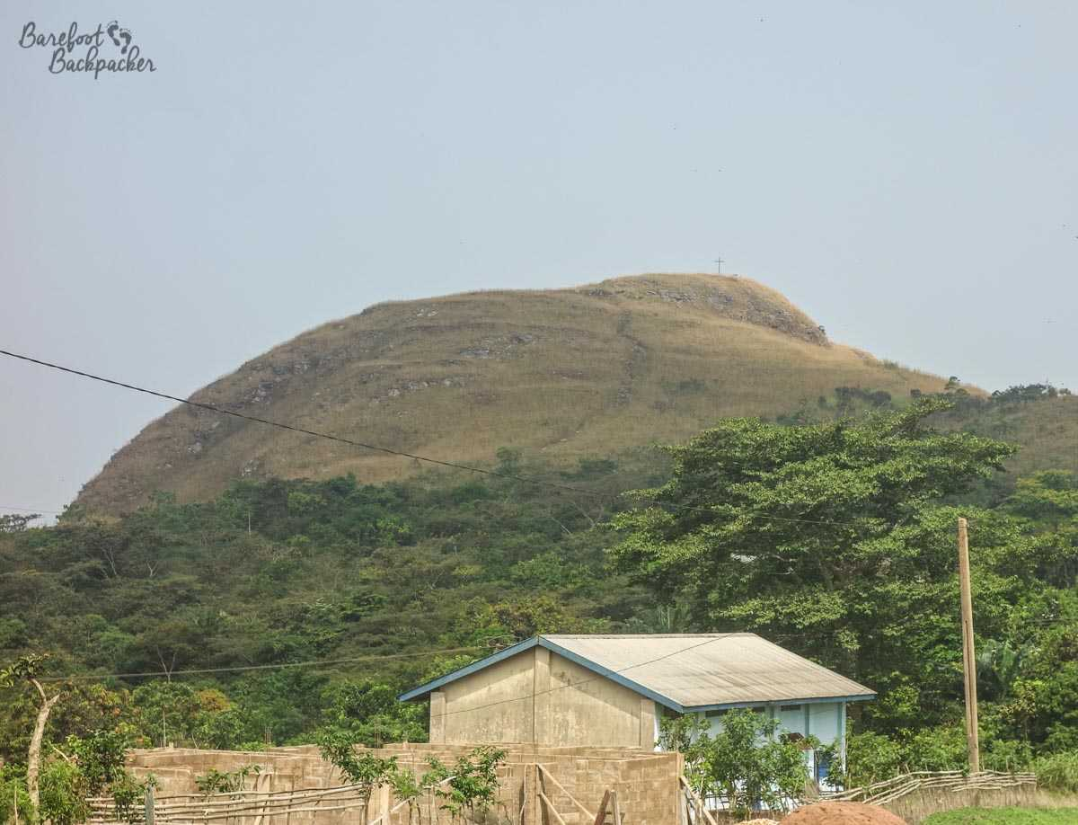 Overview of Mount Gemi, in Ghana