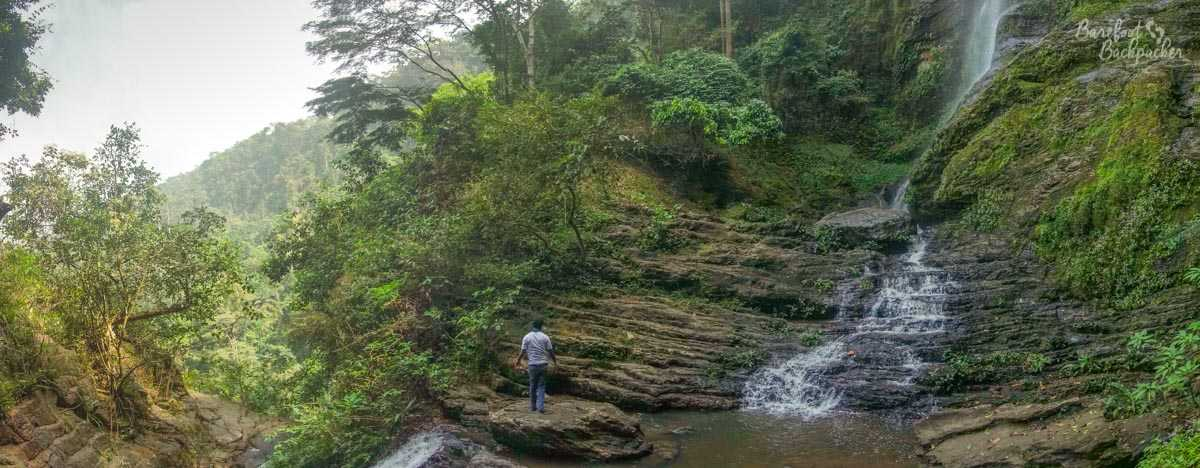 Ote Waterfalls, in Ghana