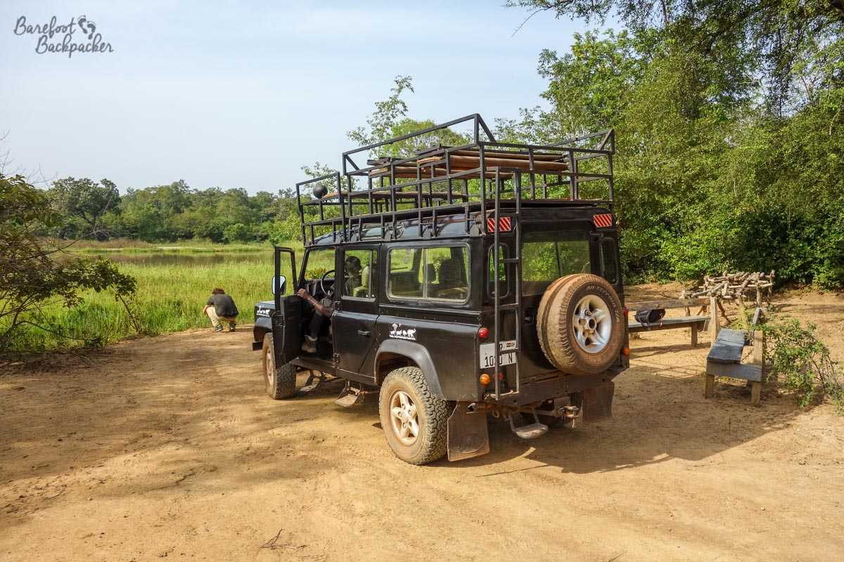 The 4x4 we took on a driving safari at Mole National Park, Ghana