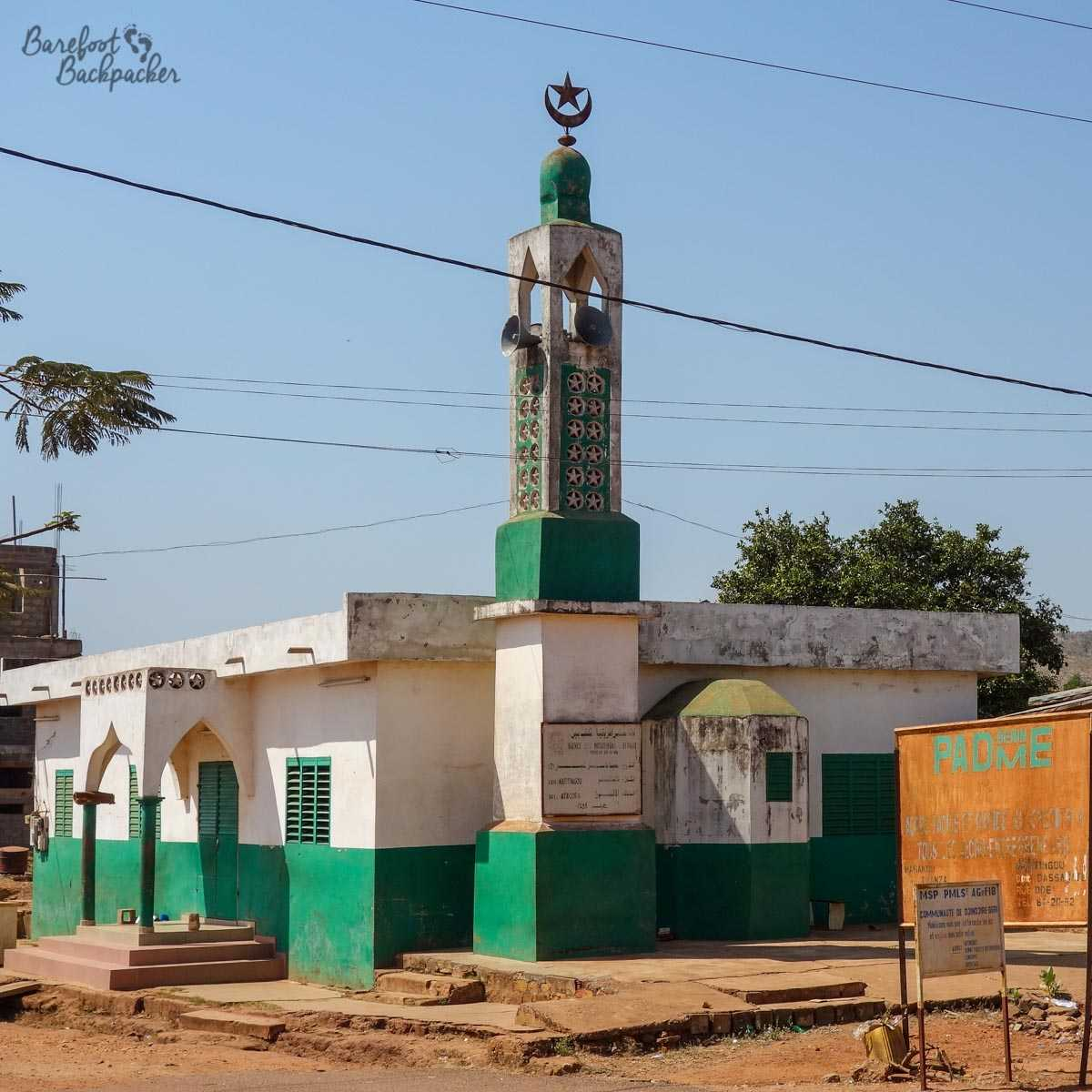 Mosque in Natitingou, Benin
