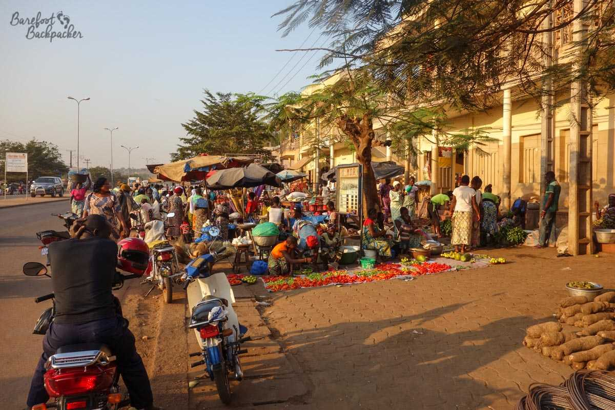Natitingou Town Centre, Benin.