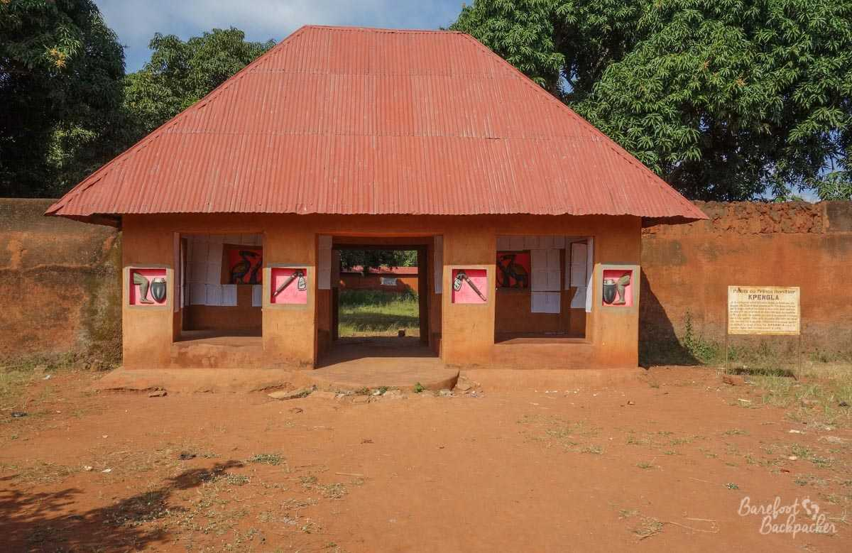 Entranceway to the Kpengla Temple, Abomey