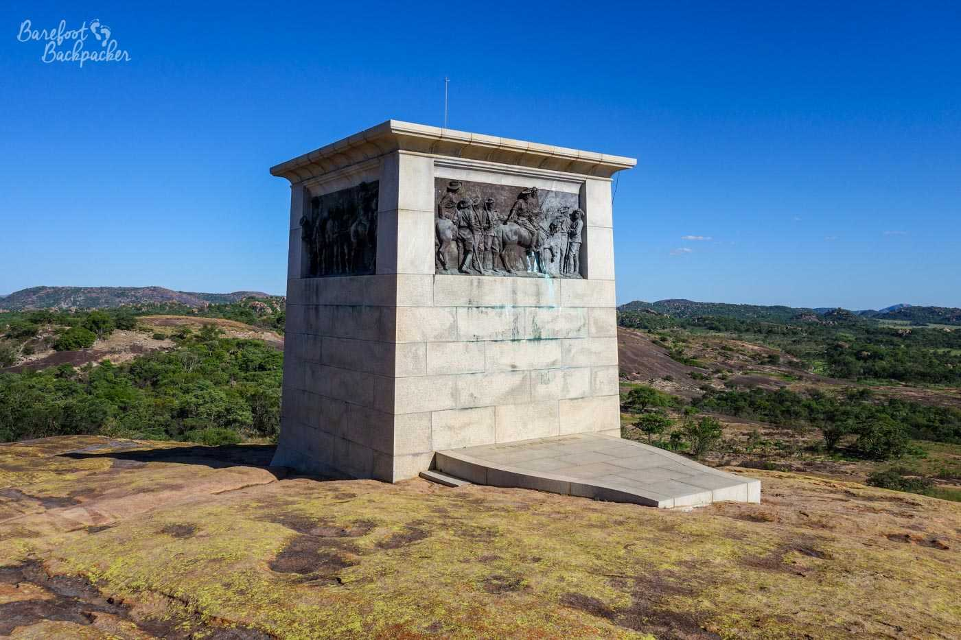 The Shangani Memorial, at World's View
