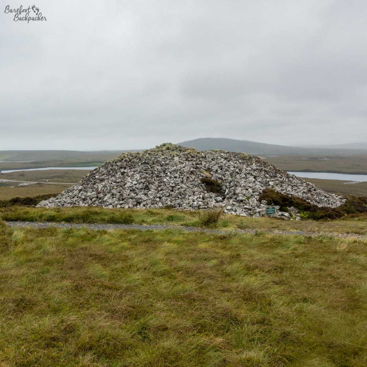 Barpa Langass, stone cairn and one of the oldest still-standing buildings in Europe
