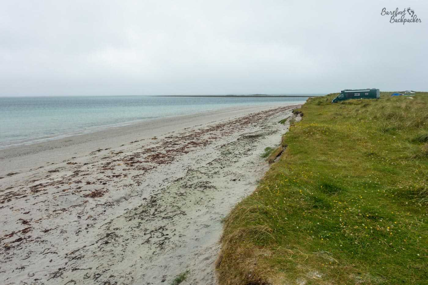 The north beach of Berneray, Outer Hebrides