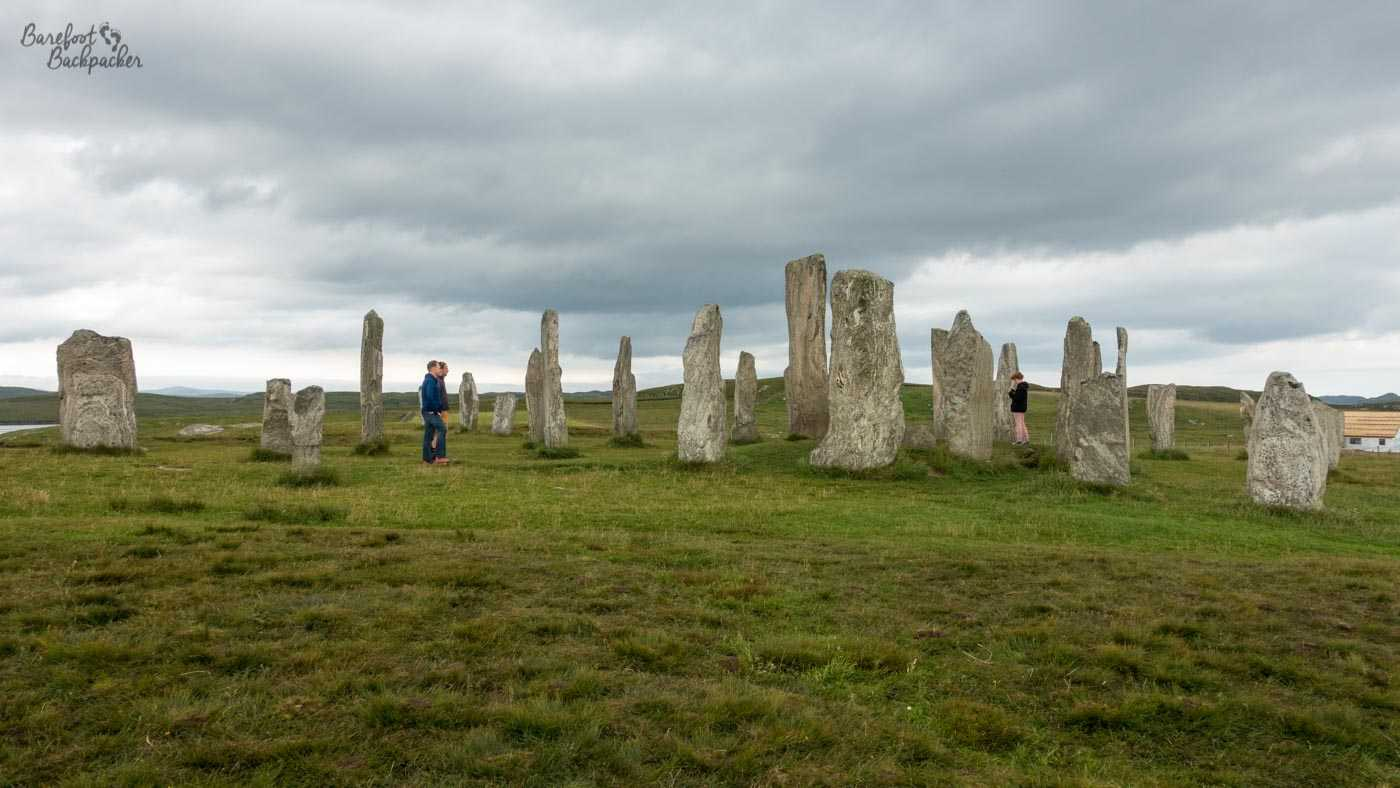 Stone circle at Callanish, Lewis.